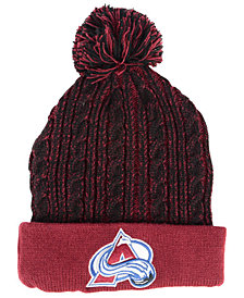 Authentic NHL Headwear Women's Colorado Avalanche Iconic Ace Knit Hat