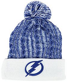Authentic NHL Headwear Women's Tampa Bay Lightning Iconic Ace Knit Hat