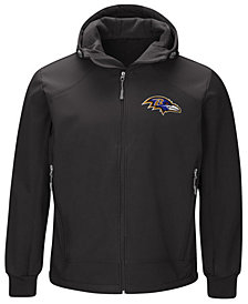 G-III Sports Men's Baltimore Ravens First Down Soft Shell Jacket