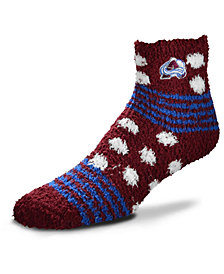 For Bare Feet Colorado Avalanche Homegater Sleep Soft Socks