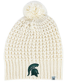 Top of the World Women's Michigan State Spartans Slouch Pom Knit Hat