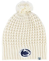 new concept 61423 4fd68 Top of the World Women s Penn State Nittany Lions Slouch Pom Knit Hat
