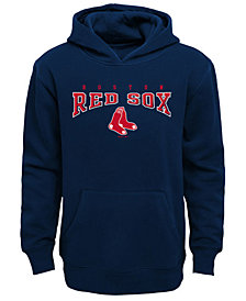 Outerstuff Boston Red Sox Fleece Hoodie, Big Boys (8-20)