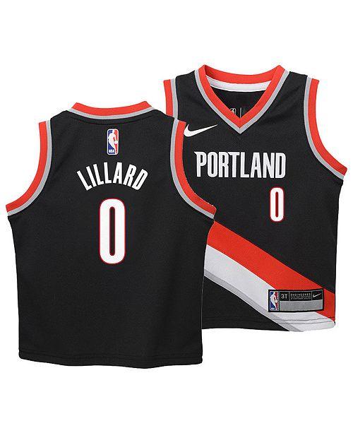 size 40 98b76 8a06f Damian Lillard Portland Trail Blazers Icon Replica Jersey, Toddler Boys  (2T-4T)