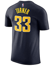 Nike Myles Turner Indiana Pacers Icon Name and Number T-Shirt, Big Boys (8-20)