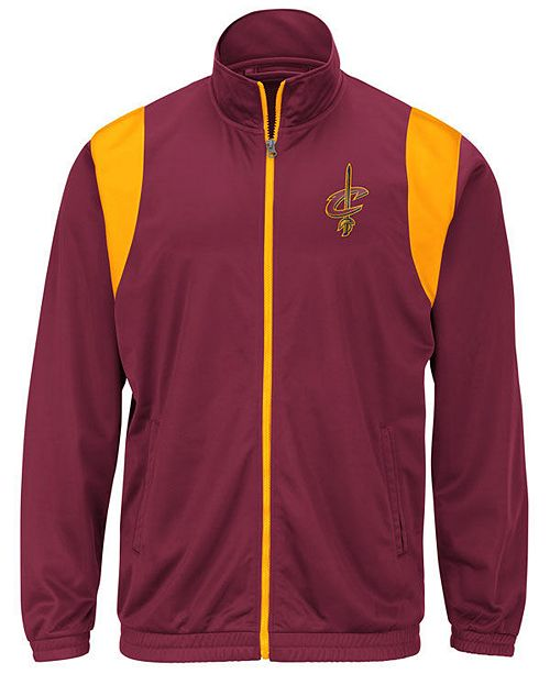 G-III Sports Men's Cleveland Cavaliers Clutch Time Track Jacket