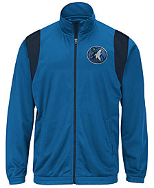 G-III Sports Men's Minnesota Timberwolves Clutch Time Track Jacket