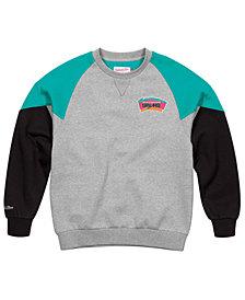Mitchell & Ness Men's San Antonio Spurs Trading Block Crew Sweatshirt