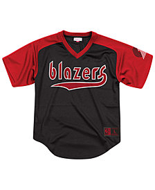 Mitchell & Ness Men's Portland Trail Blazers Final Seconds Mesh V-Neck Jersey
