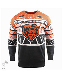 Forever Collectibles Men's Chicago Bears Bluetooth Sweater