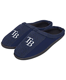Forever Collectibles Tampa Bay Rays Knit Cup Sole Slippers