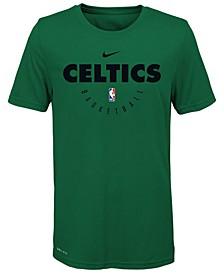 Boston Celtics Elite Practice T-Shirt, Big Boys (8-20)