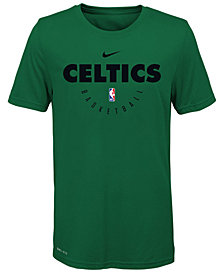 Nike Boston Celtics Elite Practice T-Shirt, Big Boys (8-20)