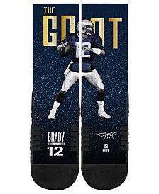 Strideline Tom Brady Action Crew Socks