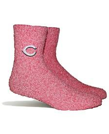 PKWY Cincinnati Reds Parkway Team Fuzzy Socks