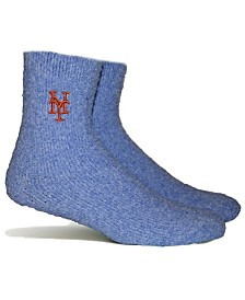 PKWY New York Mets Parkway Team Fuzzy Socks
