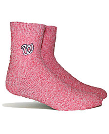 PKWY Washington Nationals Parkway Team Fuzzy Socks