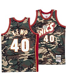 Mitchell & Ness Men's Shawn Kemp Seattle SuperSonics Woodland Camo Swingman Jersey