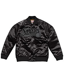 Mitchell & Ness Men's Philadelphia 76ers Tough Season Satin Jacket