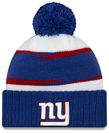 New Era New York Giants Thanksgiving Pom Knit Hat