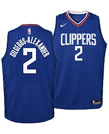 Nike Shai Gilgeous-Alexander Los Angeles Clippers Icon Swingman Jersey, Big Boys (8-20)