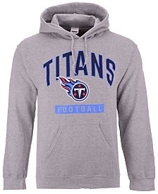 Authentic NFL Apparel Men's Tennessee Titans Gym Class Hoodie