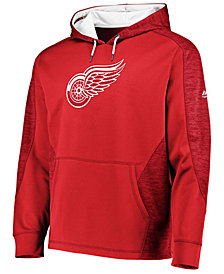 Majestic Men's Detroit Red Wings Armor Streak Hoodie