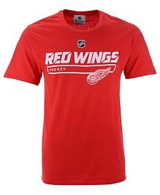 Majestic Men's Detroit Red Wings Rinkside Prime T-Shirt