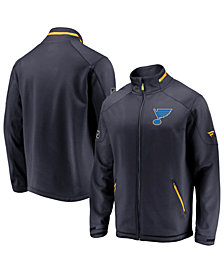 Majestic Men's St. Louis Blues Rinkside Authentic Pro Jacket