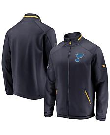 Majestic Men's St. Louis Blues Rinkside Authentic Pro Jacket