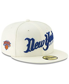 New Era New York Knicks Jersey Script 59FIFTY-FITTED Cap
