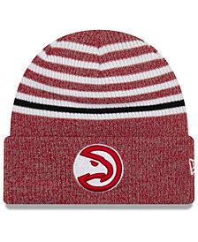 New Era Atlanta Hawks Striped Cuff Knit Hat