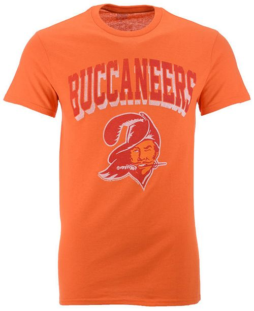 Authentic NFL Apparel Men's Tampa Bay Buccaneers Shadow Arch Retro T-Shirt