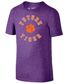Retro Brand Clemson Tigers Future Fan Dual Blend T-Shirt, Toddler Boys (2T-4T)