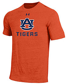 Under Armour Men's Auburn Tigers Heat Gear Tri-Blend T-Shirt