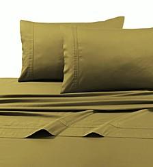 Egyptian Cotton Sateen 500 Thread Count Extra Deep Pocket 4-Piece Queen Sheet Set