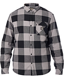Fox Mens Sherpa Flannel Shirt