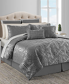 Dekalb 20-Pc. Taupe Queen Comforter Set