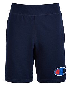 Champion Little Boys French Terry Logo Shorts