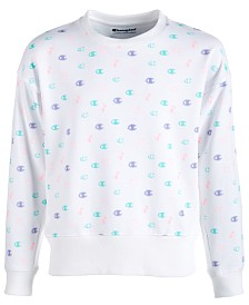 Champion Big Girls Logo-Print Sweatshirt