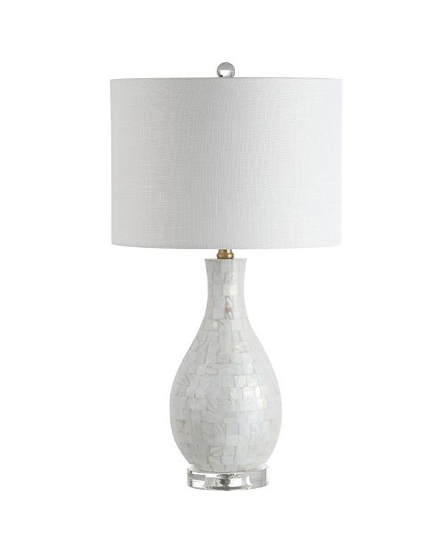 JONATHAN Y Josephine Seashell Led Table Lamp