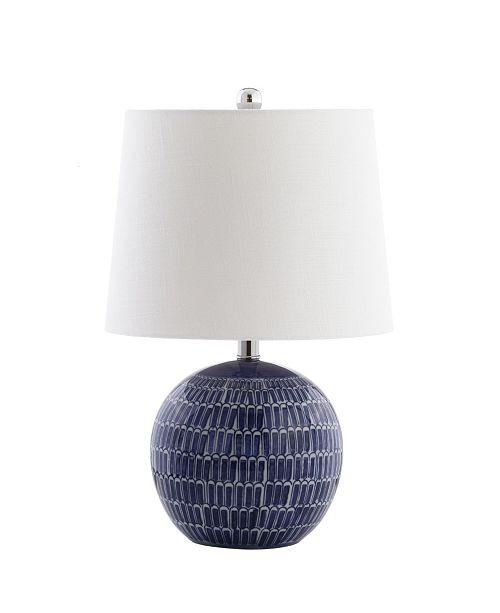 JONATHAN Y Ronald Ceramic Led Table Lamp