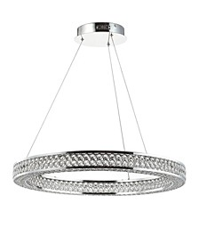 Benton Round Integrated LED Chandelier