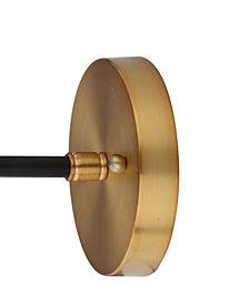Caleb 1-Light Brass Wall Sconce