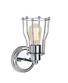 Evelyn 1-Light Metal Vanity Light
