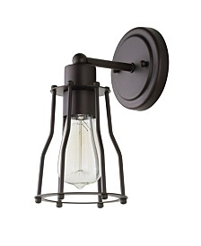 JONATHAN Y Evelyn 1-Light Metal Vanity Light