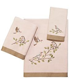 Avanti Bird Choir II Bath Towel Collection