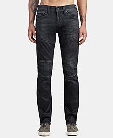 True Religion Mens Skinny-Fit Moto Jeans
