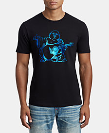 True Religion Men's Shine Buddha Graphic T-Shirt
