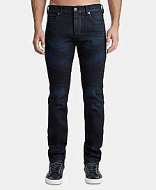 Men's Classic Rocco Moto Jeans